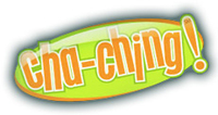 Cha-Ching Teen Club logo